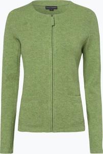 Zielony sweter Franco Callegari z wełny w stylu casual