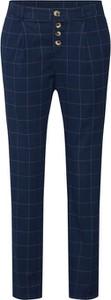 Granatowe spodnie SUBLEVEL z bawełny