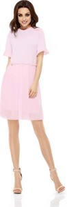 Sukienka Lemoniade z okrągłym dekoltem mini