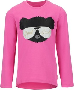 Różowa bluzka dziecięca Tup Tup z bawełny dla dziewczynek