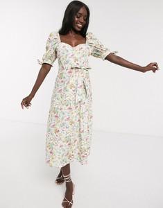 Sukienka Asos z bawełny