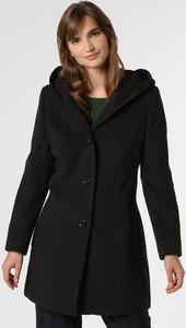 Czarny płaszcz Franco Callegari z kaszmiru w stylu casual
