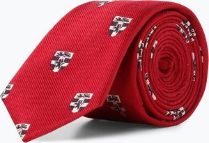 Czerwony krawat Finshley & Harding