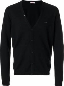 Czarny sweter Sun68 z wełny w stylu casual