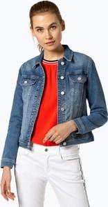 108abd108355a Niebieska kurtka comma, krótka z jeansu
