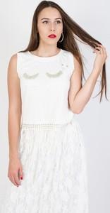 Bluzka Olika z okrągłym dekoltem