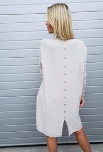 Sukienka chantel.pl z długim rękawem oversize