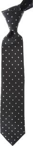 Czarny krawat Giorgio Armani