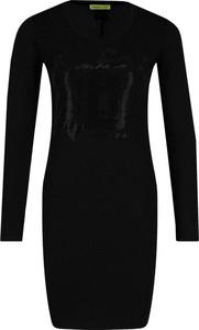 Sukienka Versace Jeans z długim rękawem