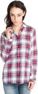 Koszula Hilfiger Denim w street stylu z kołnierzykiem z długim rękawem