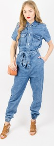 Kombinezon Olika z jeansu z długimi nogawkami