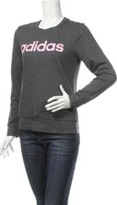 Bluzka Adidas w sportowym stylu z okrągłym dekoltem