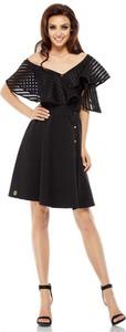 Czarna sukienka Lemoniade hiszpanka mini