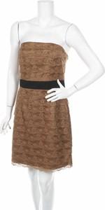 Brązowa sukienka H&M
