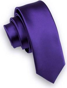 Fioletowy krawat Alties