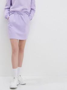 Spódnica House mini z dresówki w stylu casual