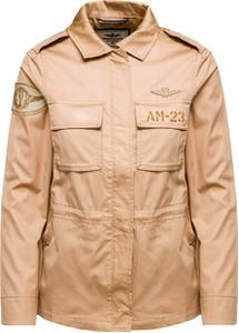 Kurtka Aeronautica Militare w stylu casual z bawełny