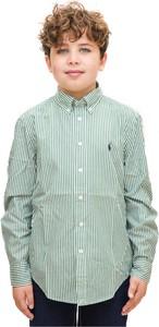 Zielona koszula dziecięca POLO RALPH LAUREN
