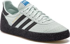 Buty sportowe Adidas ze skóry ekologicznej w sportowym stylu