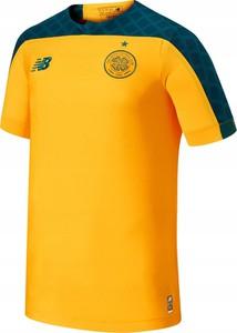 Żółta koszulka dziecięca New Balance dla chłopców
