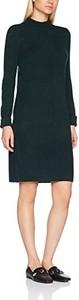 Czarna sukienka amazon.de z długim rękawem