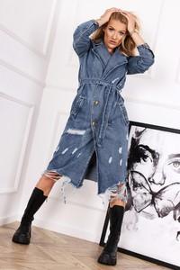 Płaszcz Ptakmoda.com z jeansu