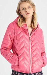 b8189dfb002f1 Pomarańczowe kurtki pikowane, kolekcja wiosna 2019