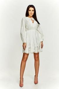 020875c500 sukienki haftowane - stylowo i modnie z Allani