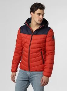 Czerwona kurtka Napapijri w sportowym stylu krótka