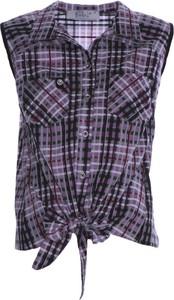 Bluzka Fokus bez rękawów w młodzieżowym stylu