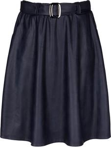 Spódnica KARKO ze skóry w stylu casual