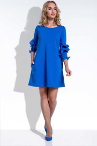Niebieska sukienka Fobya