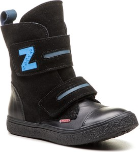 Czarne buty zimowe Zarro