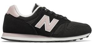 Buty sportowe New Balance sznurowane w sportowym stylu na koturnie