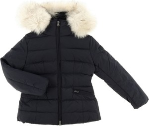 Czarna kurtka dziecięca Peuterey