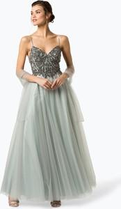 45567dd403 Zielona sukienka Unique w stylu glamour