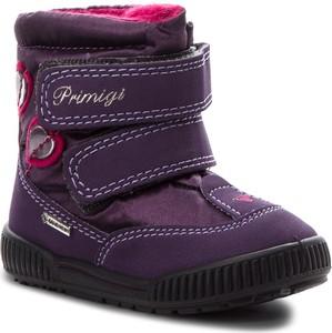 Fioletowe buty dziecięce zimowe Primigi