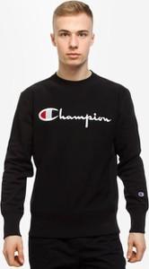 Czarna bluza Champion z bawełny