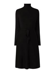 Sukienka S.Oliver Black Label z golfem z długim rękawem mini