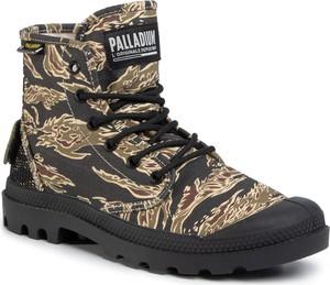 Zielone buty zimowe Palladium