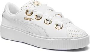 40e6580b Białe trampki i tenisówki Puma, kolekcja lato 2019