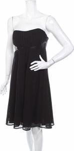 Czarna sukienka Jacqueline Riu gorsetowa bez rękawów