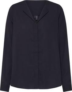 Czarna bluzka Vero Moda z dekoltem w kształcie litery v