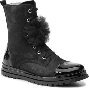 Buty dziecięce zimowe Primigi sznurowane