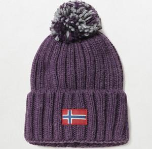 Fioletowa czapka Napapijri