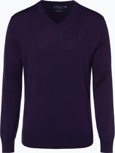 Granatowy sweter POLO RALPH LAUREN