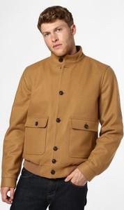 Brązowa kurtka Andrew James w stylu casual