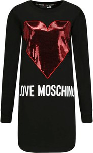 Czarna sukienka Love Moschino