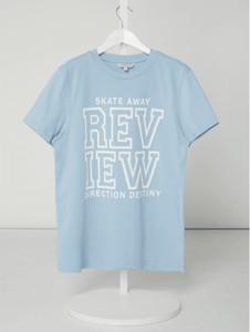 Koszulka dziecięca Review For Teens z bawełny