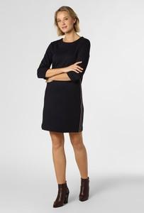 Granatowa sukienka S.Oliver w stylu casual prosta mini